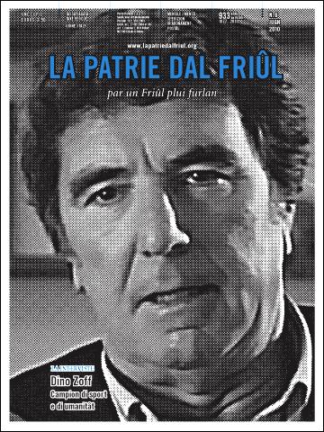 """Friuli: numero di giugno 010 della """"Patrie dal Friûl con intervista a Dino Zoff"""