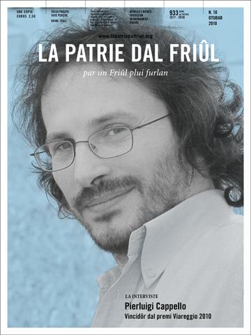 Il poete Pierluigi Cappello, vincidôr dal premi Viareggio 2010