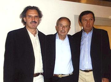 De Monte, Beppino e Armando Englaro (foto Ronchi)