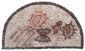 "Aquilee, mosaic cun i ""animai impuri"""